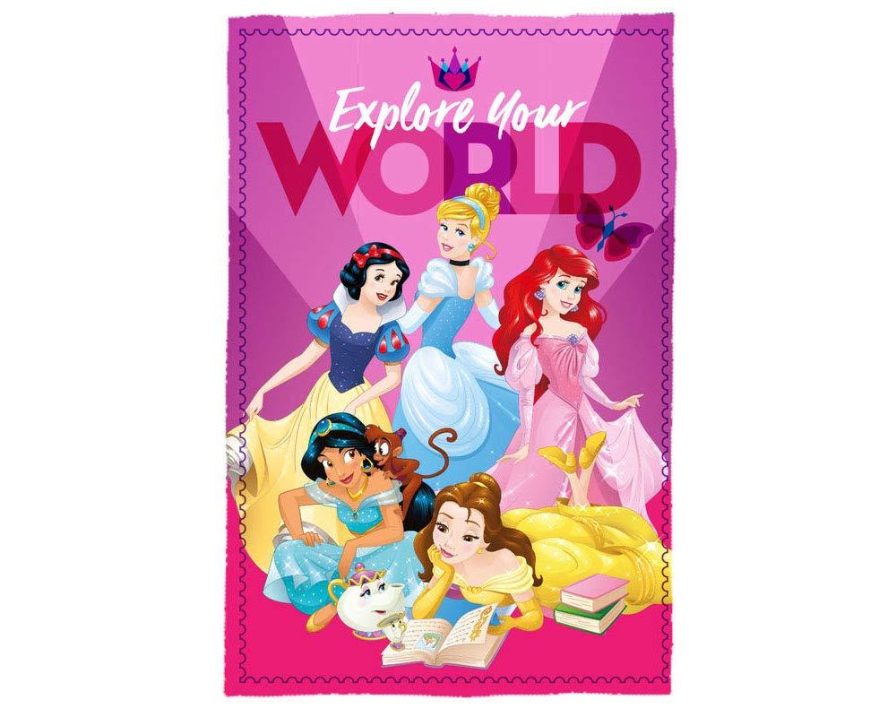Desconocido Kids- Princesas Disney Manta Polar 150x100 cm ...