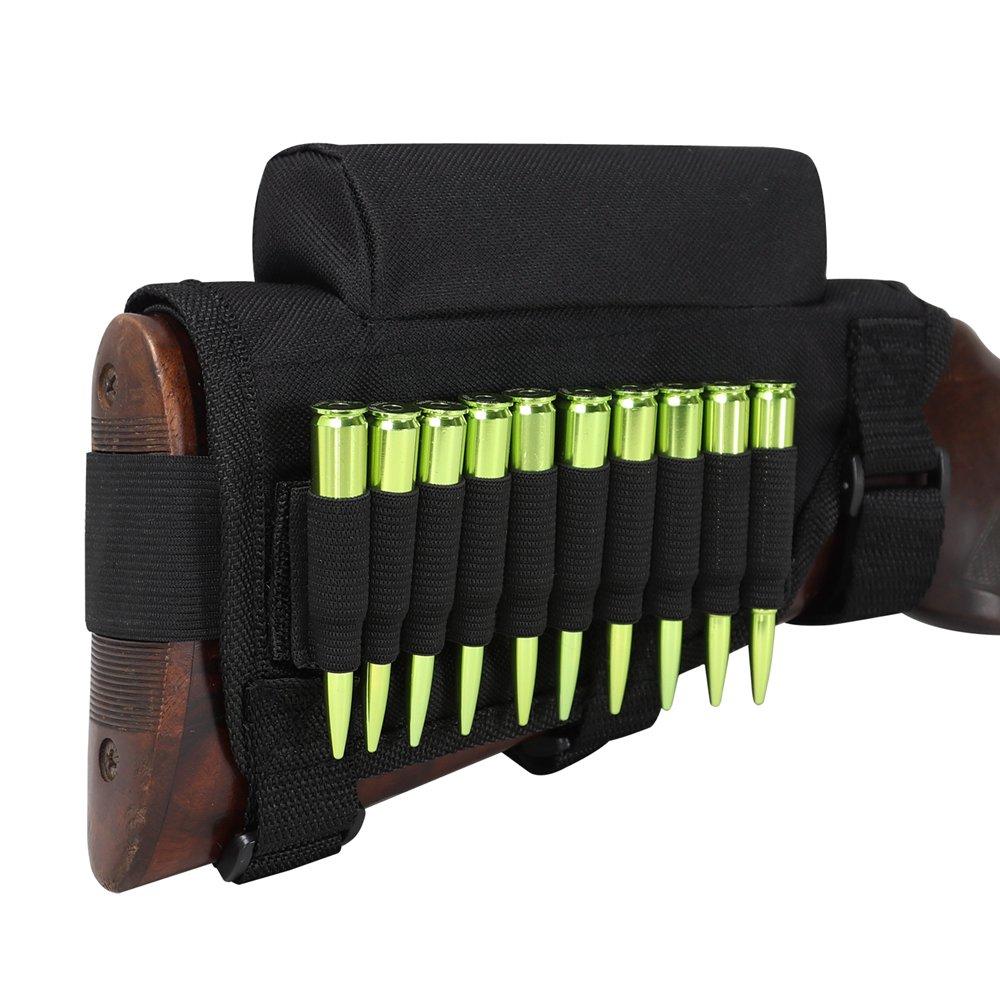 Tourbon Caza Tiro Rifle Culata Mejilla Resto MuniciÓN Monedero