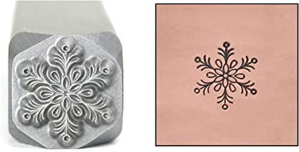 Tree Metal Design Stamp Beaducation Original Metal Design Stamps 5mm Evergreen Forest Christmas Winter Punch Stamping Tool for Hand Stamped DIY Jewelry Crafts