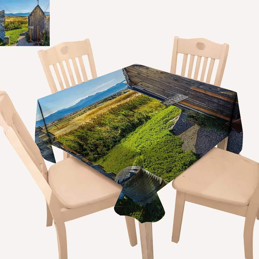 WinfreyDecor 宇宙 ピクニック クロス 宇宙のリアルな景色 ニューホライゾン テーマ サイエンスフィクション 写真 ダイニングテーブルカバー アーミーグリーン ペールグレー W 70