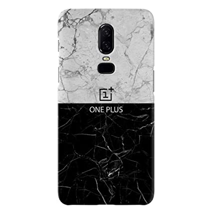 huge discount 7e65a 9d2bc Koveru Designer Printed Back Cover Case For Oneplus 6 (Grey)