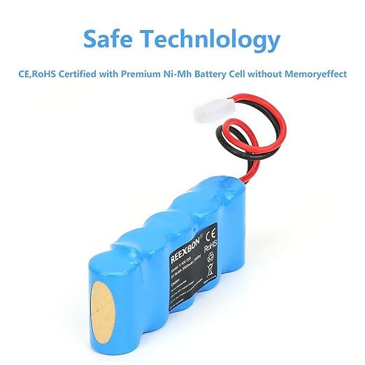 MTEC Akku Batterie für Bosch Somfy Roll-Lift Easy-Lift E-BRLX620-1-NC 2000mAh