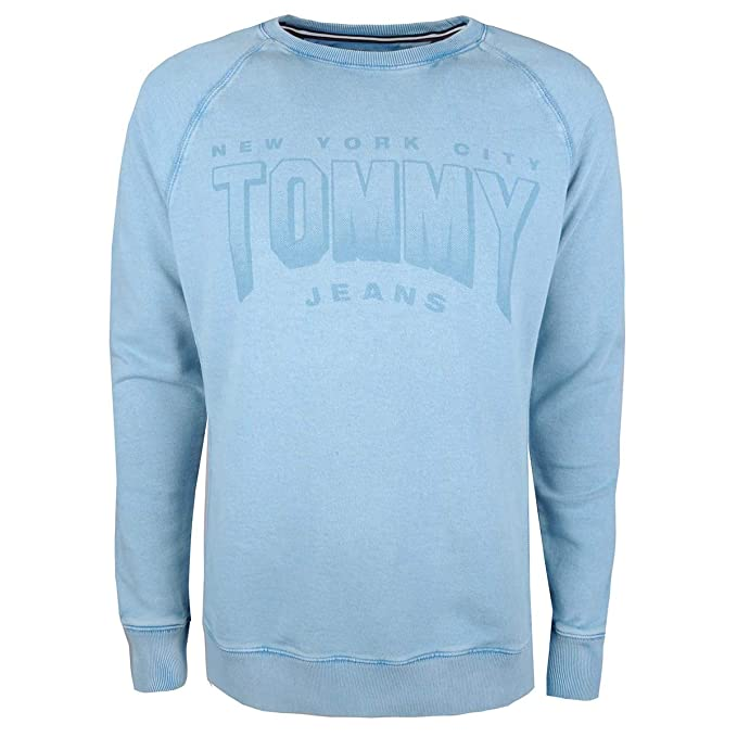 Tommy Hilfiger GD Logo sudadera, Azul (Cameo Blue 408), Medium ...