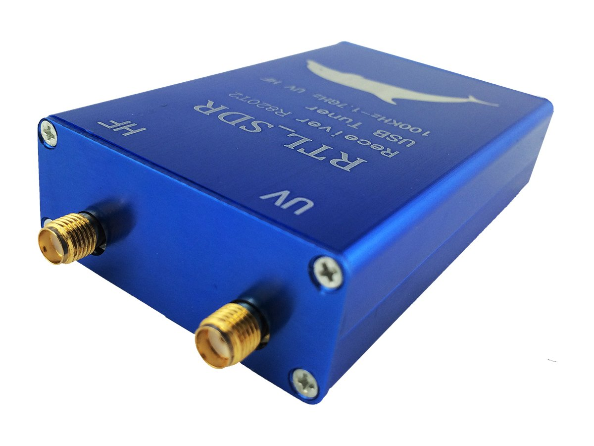 Usmile USB VHF and UHF Full band Direct RTL-SDR Receiver for sdr radio  receiving