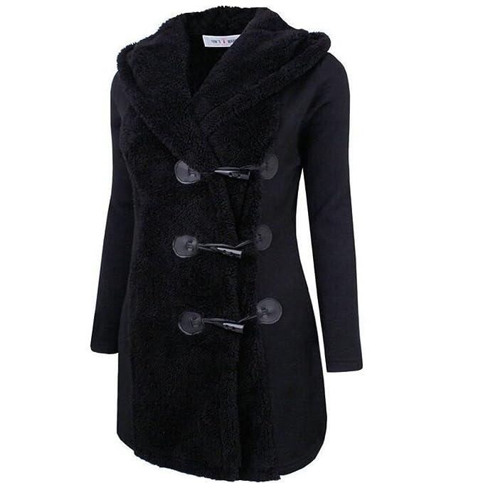 Zearo Ragazza it Amazon Nero Cappotto M Abbigliamento Montgomery rvqfWr
