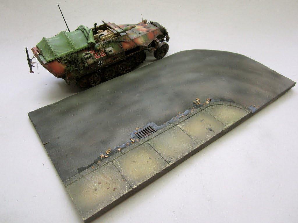 1//35 Scale Large Tarmac display base #2 145mm x 280mm