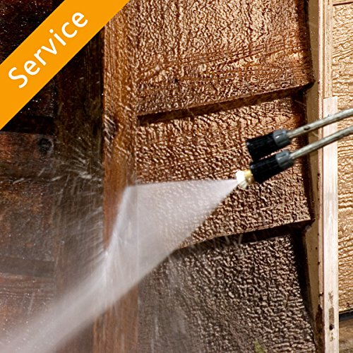Pressure Wash - Building Exterior, Less Than 2000 Sq Ft