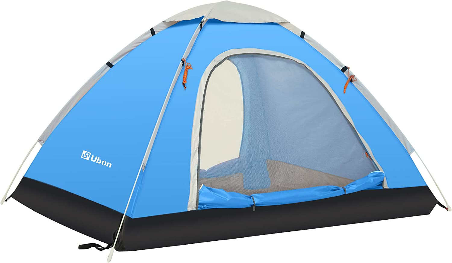 Ubon 2 3 Person Pop Up Tent Instant Tent Lightweight Backpacking Tent Camping Sports Outdoors