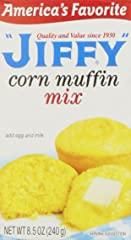 Jiffy Muffin Mix, Corn, 8.5 oz