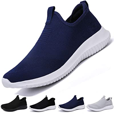 L LOUBIT Women Walking Shoes Slip on Athletic Tennis Breathable Running Sneakers | Walking