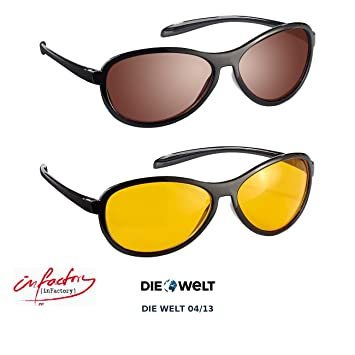 Pack de lunettes de conduite avec verres polarisés Infactory dfrl7jYWq