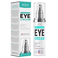 Premium Eye Cream Serum For Dark Circles and Puffiness - with Hyaluronic Acid -...