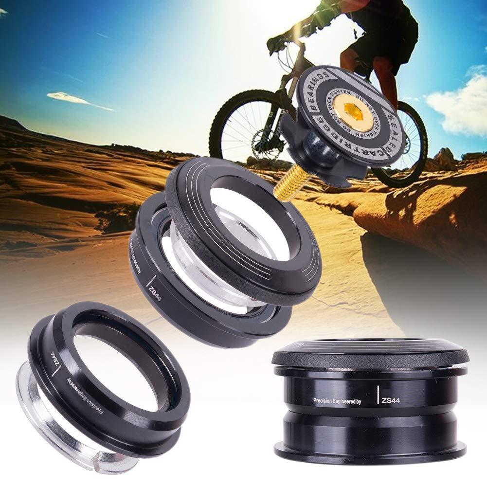 in Lega di Alluminio Tubo Dritto da 44 mm Ultra Leggero Serie sterzo per Bicicletta Lumpur 4444S Accessorio per Ciclismo su Strada Semi Integrato