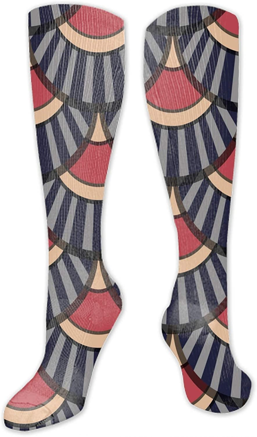 Digital Painting Design Ostrich Icon High Socks Party Sock Stockings For men /& Women