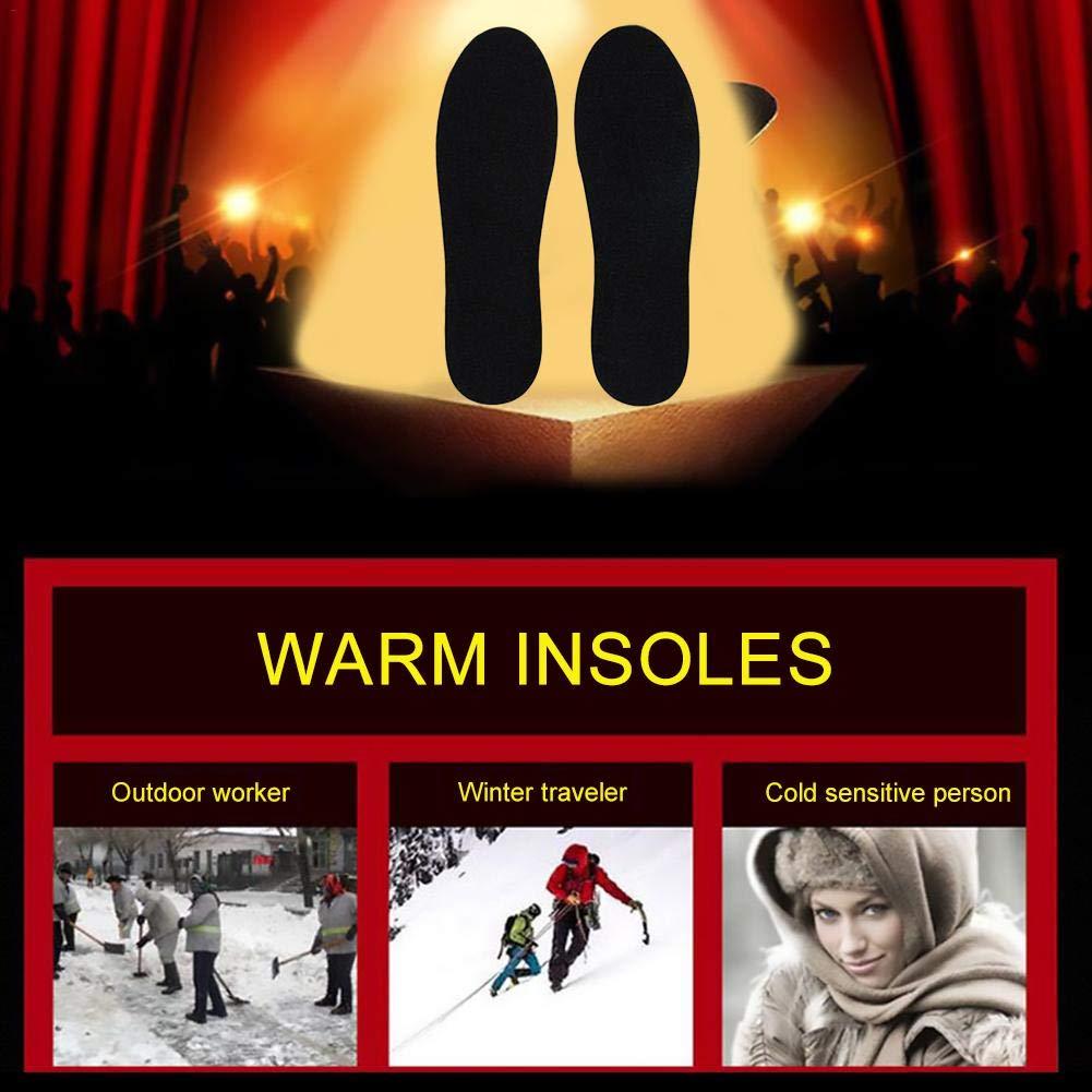 Nicololfle Wiederaufladbare beheizte Einlegesohle, die die die im Winter elektrische Heizungsauflage für Männer und Frauen-Winter-im Freiensport-Ausrüstung Sich wärmt B07LGLYXFK Fuwrmer Zu verkaufen 299def