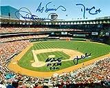 Multisigned Autographed Busch Stadium Photo 8x10
