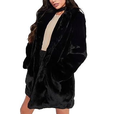3900993a601 Joseph Costume Winter Faux Fur Coat For Women Long Sleeve Lapel Warm  Outwear Cardigan Overcoat Jacket