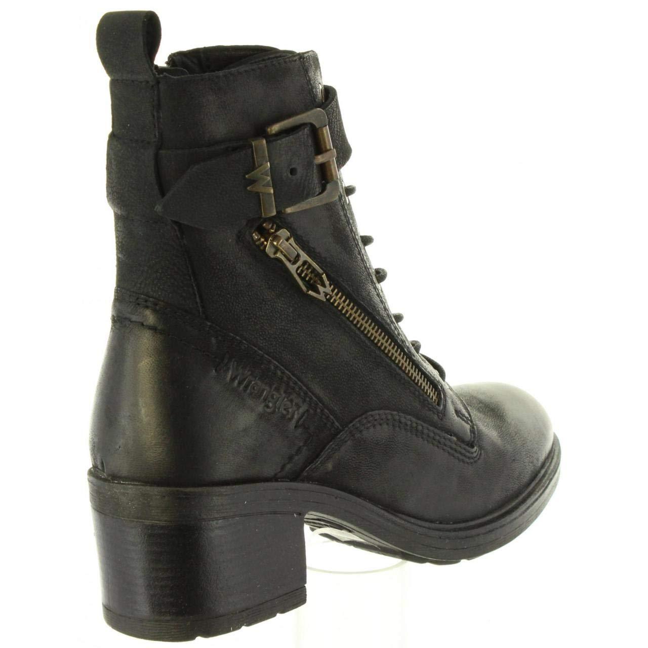 Wrangler Stiefel Stiefel Stiefel für Damen WL182542 Vail schwarz 8d5d6d