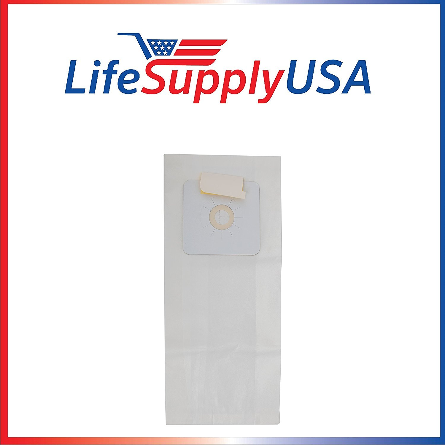 50 Packs of 3 (150 pcs) Central Vacuum Bags for Nutone Beam and many others by LifeSupplyUSA
