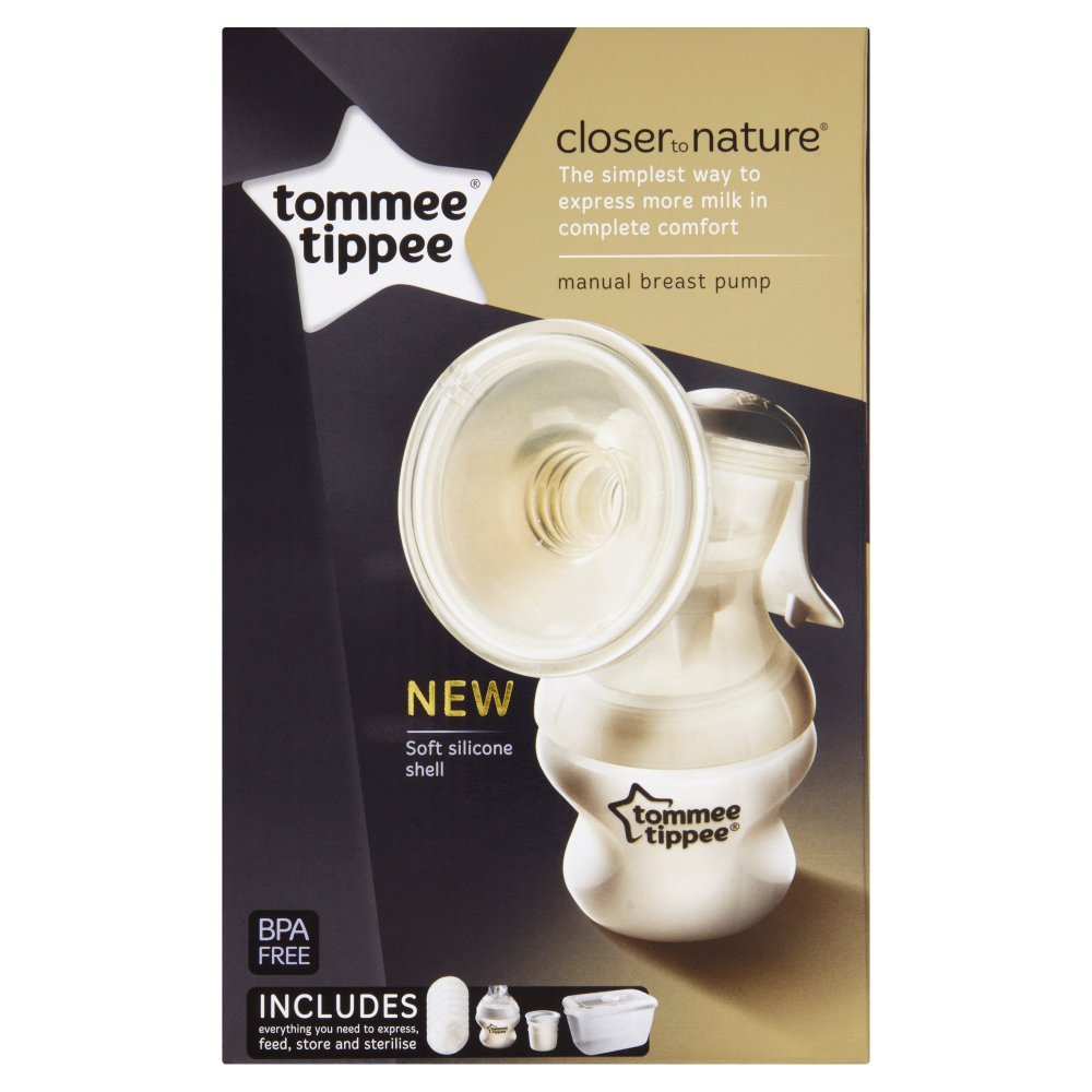 Tommee Tippee Closer To Nature Manual Breast Pump by Tommee Tippee