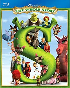 Cover Image for 'Shrek: The Whole Story Boxed Set (Shrek / Shrek 2 / Shrek the Third / Shrek Forever After)'