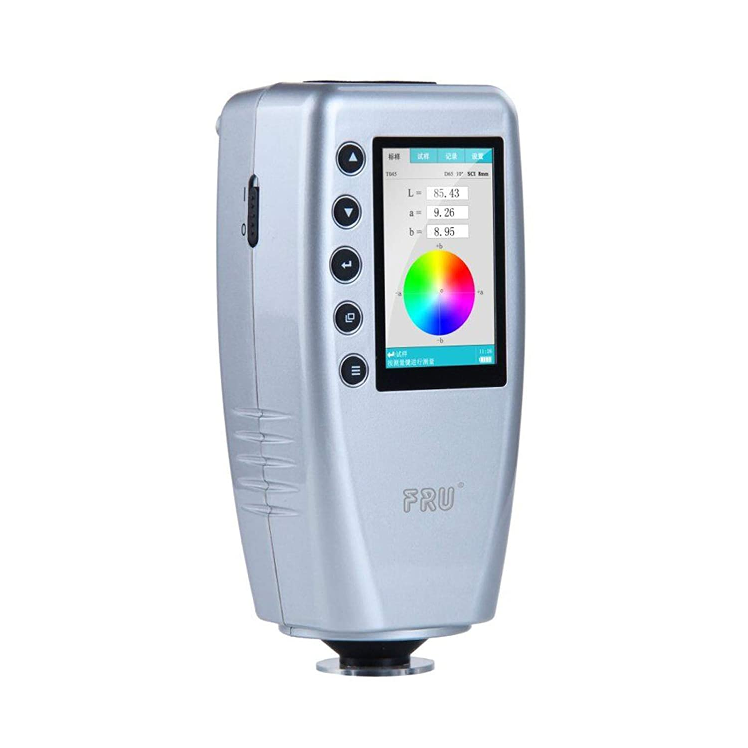 FRU WR10 8mm Caliber Colorimeter Hand-held Portable Lab Accurate Color Meter