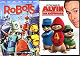 Alvin & The Chipmunks + Robots the movie Cartoon from the creators of Ice Age DVD Animated Set