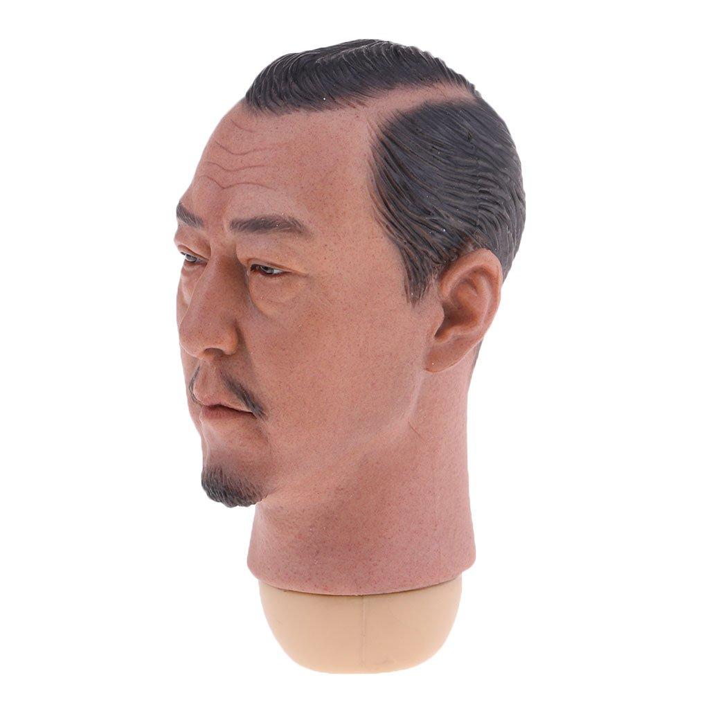 Fenteer 1/6 Skala Männlicher Kopf Headsculpt für Action 12 Zoll Action für Figure Spielzeug f456eb