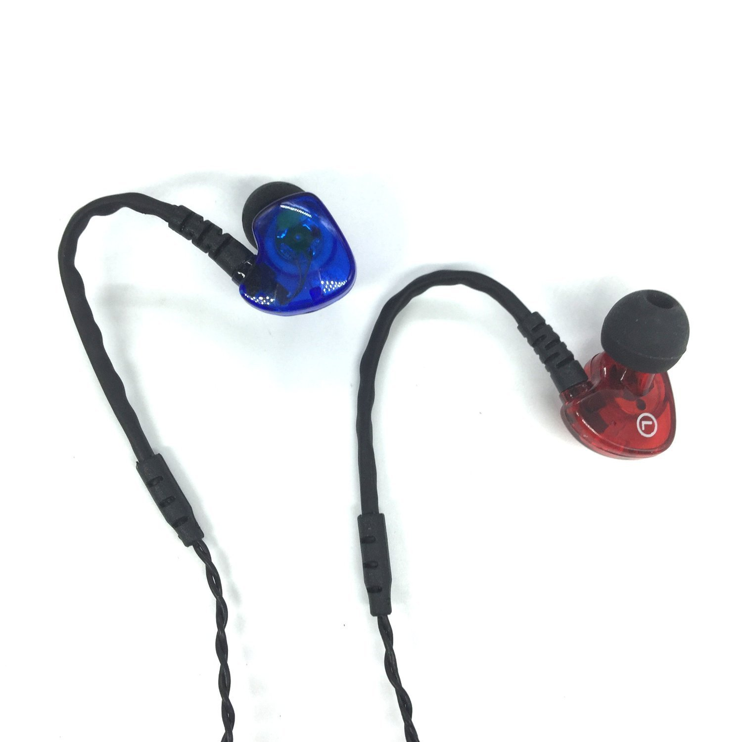 Sport Earphones,buyitpremium Earbuds Noise Isolating & Bass with Mic Stereo 3.5mm Headphone Earphone Compatible for Apple Iphone Ipod Ipad Samsung HTC Android Smartphone Mp3 Players