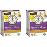 Traditional Medicinals Smooth Move Senna Herbal Stimulant Laxative Tea, Chamomile, Net WT 1.13oz (Pack of 2)