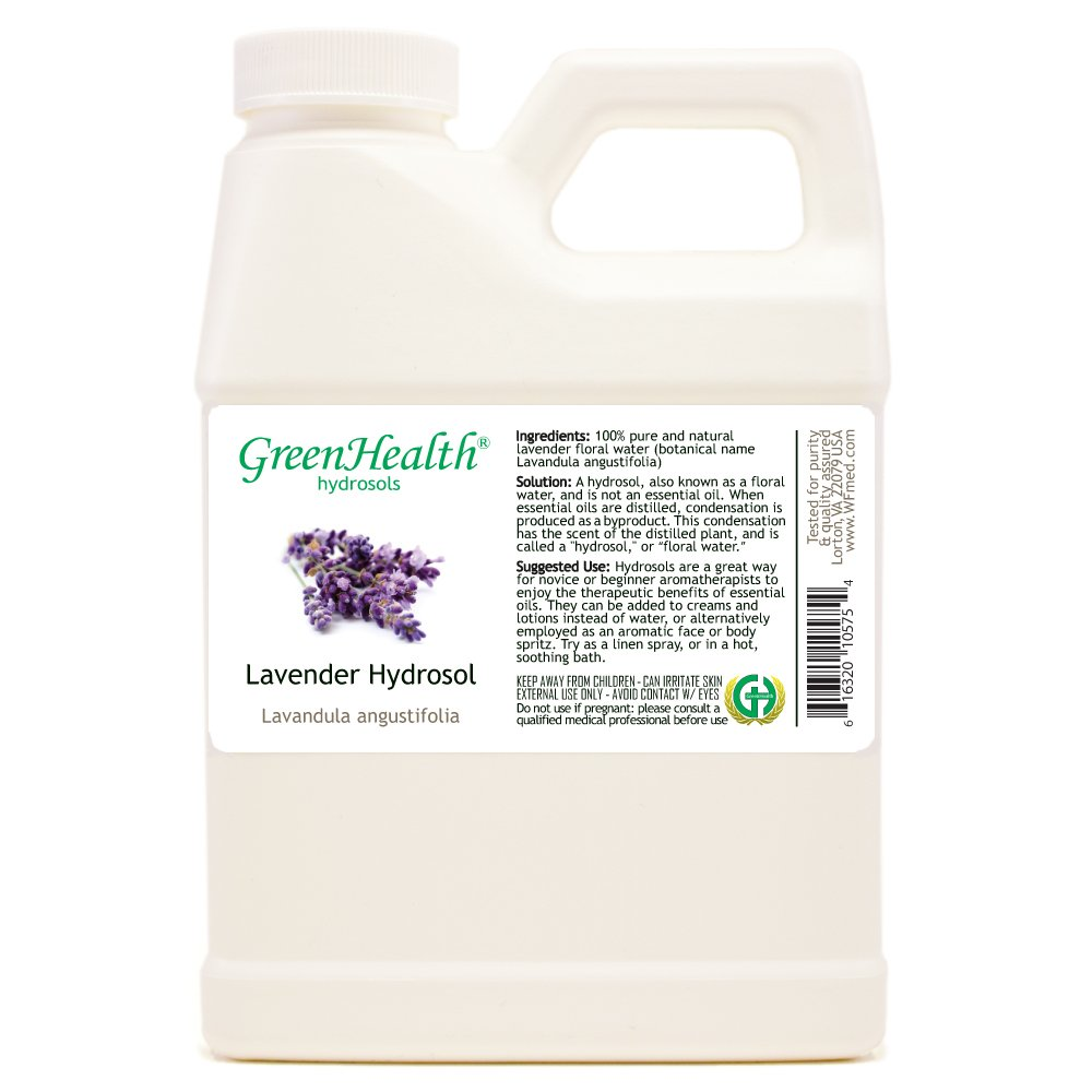 16 fl oz Lavender Floral Water (NOT OIL) by GreenHealth