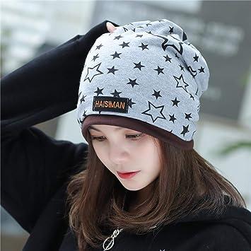 XJDMG Sombrero de Punto Wool Hat Gorra Nueva Estrella 2 Utilizar ...