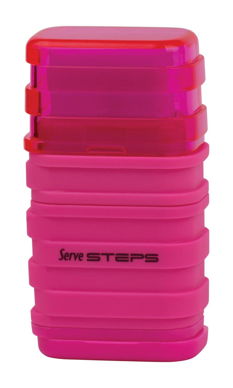 Serve SV Step S9KT Steps Eraser and Sharpner One Body Paper Box, Pack of 9-Fluorescent Colors by Serve (Image #8)