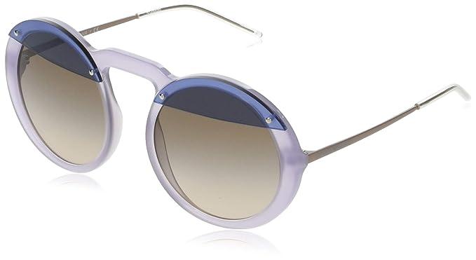 Emporio Armani 0EA4121 Gafas de sol, Opaline Violet, 55 para ...
