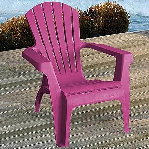Gartensessel kunststoff  Amazon.de: 2 Stück Adirondack Chair Stapelstuhl Gartenstuhl ...