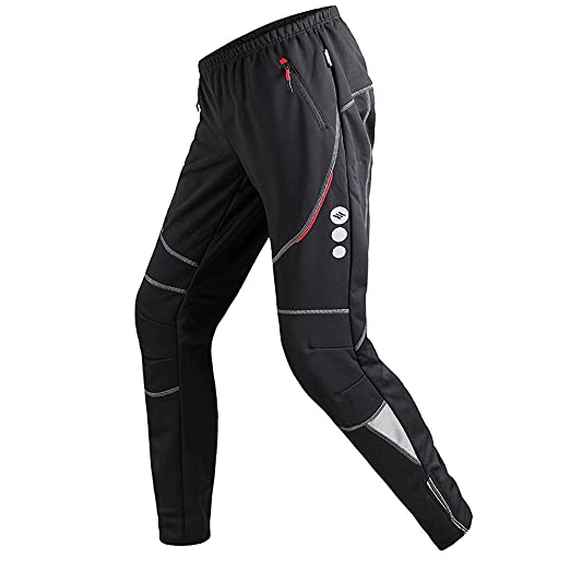 7 opinioni per Santic Ciclismo Pantaloni Uomo Invernali