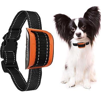 MASBRILL Collar antiladridos para perros pequeños y medianos - Sonido / vibración Perro Barking Collar de