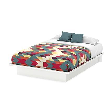Base de Cama Queen Blanco Puro CREA Muebles: Amazon.com.mx: Hogar y ...