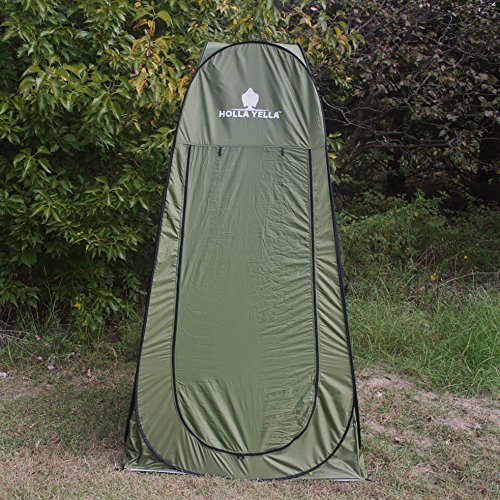 Holla Yella Extra Large Pop Up Privacy Tent Tallest