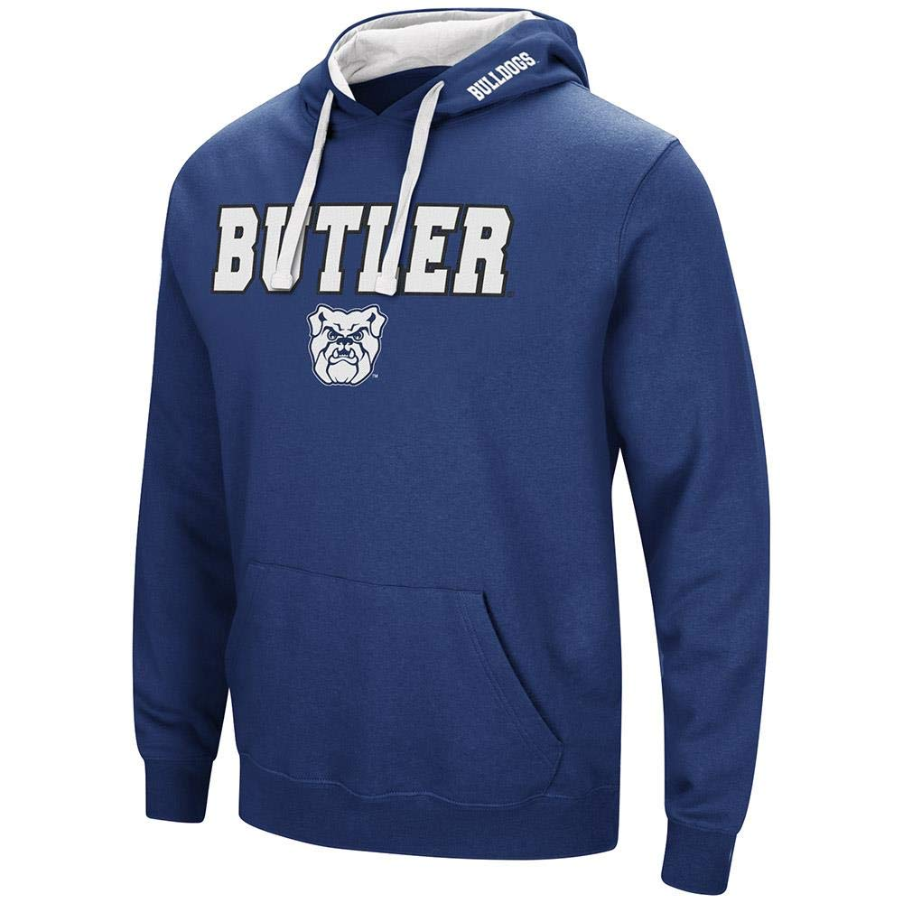 Colosseum Butler Bulldogs プルオーバーパーカー メンズ B07GFV6YJB   XX-Large with Name Embroidered