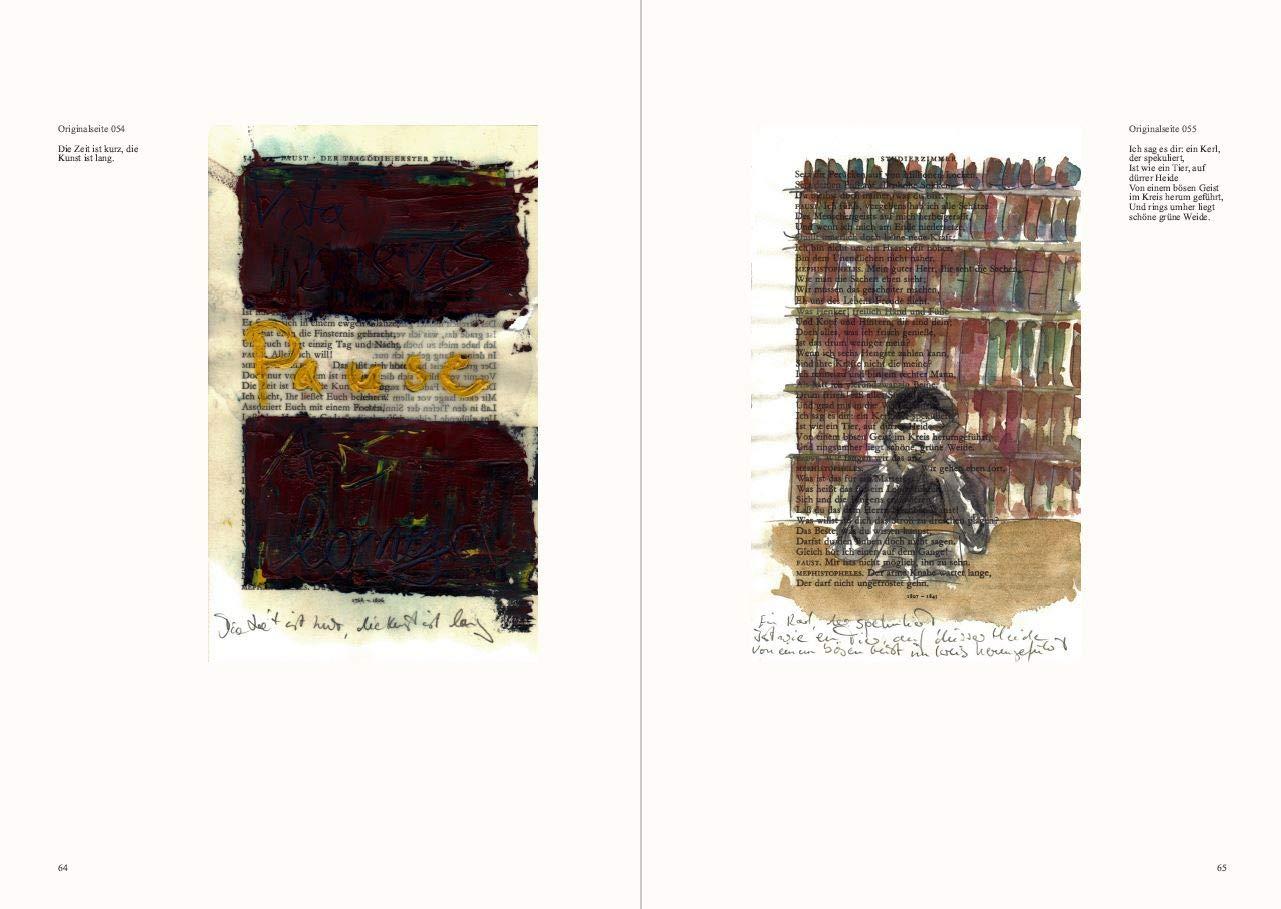 Zwei Seelen Eine Faust Interpretation In Einhundertfünfunddreißig Bildern Nono Viktor Bücher