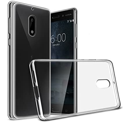 612ef4f139 Kaira Soft Ultra Slim Back Case Cover for Nokia 6: Amazon.in: Electronics