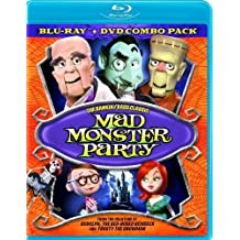 Mad Monster Party Combo Pack BD + DVD [Blu-ray] by LIONSGATE by Jules Bass