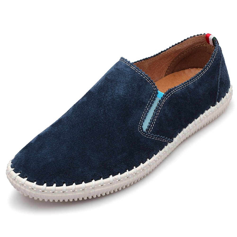 f72e10998f3e6 Amazon.com: XUEXUE Men's Leather Shoe Spring Summer Loafers & Slip ...