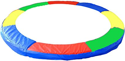 15 FT Multicolor Trampoline Pad Replacement Trampoline Safety Cover