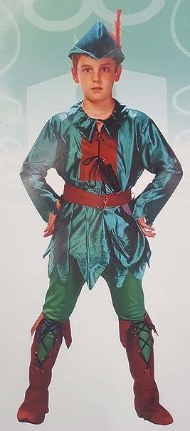 Disfraz Peter Pan niño. Talla 5/6 años.: Amazon.es: Juguetes y juegos