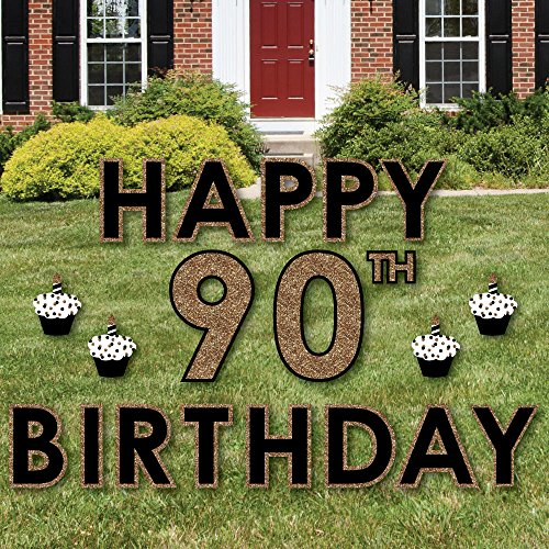 Adult 90th Birthday Outdoor Decorations