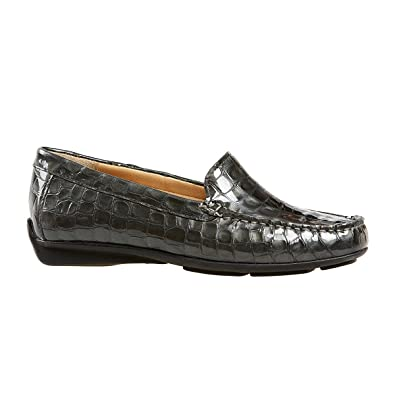 Van Dal Shoes Womens Albany Loafers in Storm Croc Print  Amazon.co.uk  Shoes    Bags d9bbaba4a
