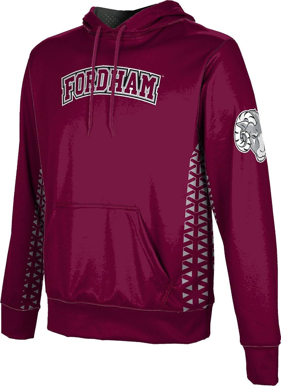ProSphere Fordham University Mens Pullover Hoodie School Spirit Sweatshirt Geo