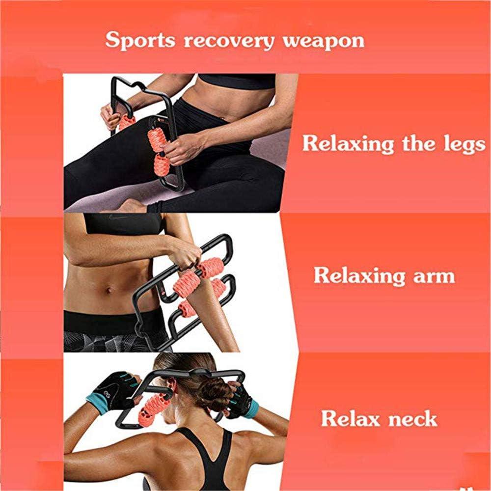 b/âton pour Jambe de Massage Colonne de Yoga Ligne Beautify Leg,Bleu Rouleau de Relaxation Musculaire appareils de Musculation Massage de d/écompression Tuyau de Rouleau ZSH Tige en Mousse Mace